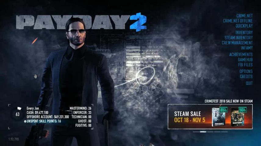 Don T Play Payday 2 With Mods Vidlii