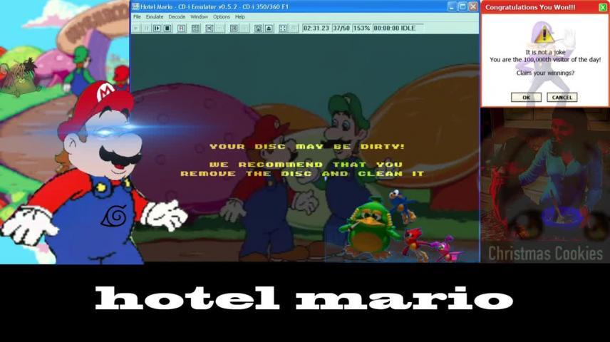 Mashup Hotel Mario Junkie Vidlii
