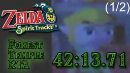 TLoZ: Spirit Tracks - Forest Temple RTA in 42:13.71 (1/2)