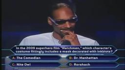 Snoop Dogg plays for $50,000 (WWTBAM 10th Anniversary Primetime US)