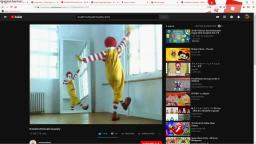 ronald mcdonald insanity but its speed up and record with hypercam 2