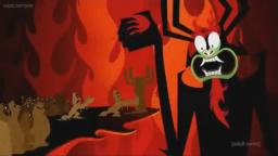 Aku yells at the Wicked Wazir