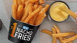 ALL NEW Taco Bell Nacho Fries!!!!!!!!!!