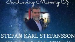 Stefan Karl Stefansson Passes Away At The Age Of 43 (R.I.P)