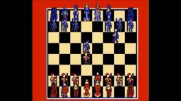 Battle Chess - Chess - NES Gameplay