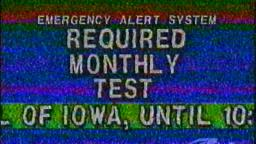 Strange Emergency Broadcast Test (Fake)