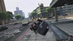 GTA V: Car Flipping