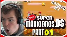 A New ADVENTURE....With A Twist: Newer Super Mario Bros DS Lets Play (01)