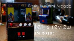 Tetris Mini Arcade Machine (Basic Fun) Unboxing & Review