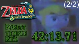 TLoZ: Spirit Tracks - Forest Temple RTA in 42:13.71 (2/2)