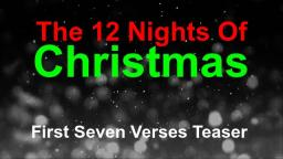 12 Nights Of Christmas ~ TEASER