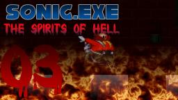 Lets Play Sonic.exe The Spirits of Hell Part 3 - Eggman auf der Flucht