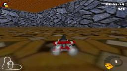 SuperTuxKart Amazing Easter Egg in Fort Magma