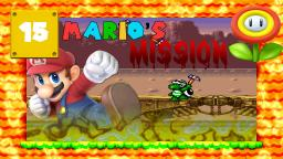 Lets Play Marios Mission [SMW-Hack] Part 15 - Gegner-Bashing auf dem Zug