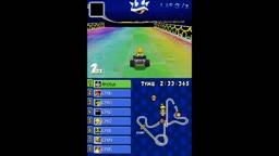 Mario Kart DS N64 Circuit New Rainbow Road Remodel