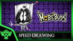 Speed Drawing: MobéBuds - Vidminime (Concept 1) | Mr. A.T. Andrei Thomas
