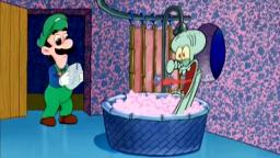 (VidLii Classic)Mama Luigi Drops by Squidwards House