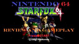 Star Fox 64 Review And Gameplay On Nintendo 64 (Old Video)