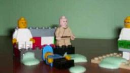 Family Guy Puking Contest in lego