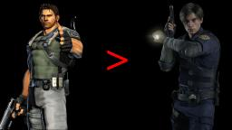 Why Chris Redfield Is Better Than Leon Kennedy
