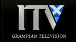 ITV Grampian Television ident & News at Ten titles