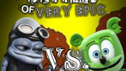 Epic Rap Battles of Very Epic - Crazy Frog vs. Gummibar