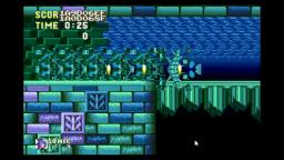 Sonic 3 and K weird game glitch