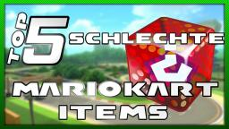 Top 5 schlechte Mario Kart Items