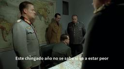 Hitler se entera y reacciona de Tainy J Balvin - Agua Sponge On The Run