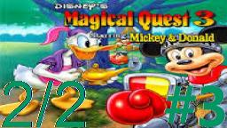 Let´s Play Micky´s Magical Quest 3 TMFB (Deutsch) - Teil 3 Hohe Klippen auf dem Sandberg! (2/2)