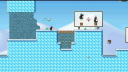 SuperTux Gameplay (Welcome To Antarctica, The Journey Begins)