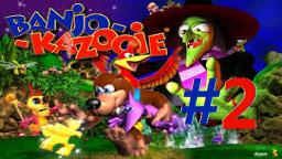 Let´s Replay Banjo-Kazooie (100% Deutsch) - Teil 2 Banjo der Bergglitcher!
