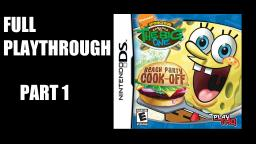 SpongeBob vs. The Big One: Beach Party Cook-Off | Full Playthrough (Part 1)