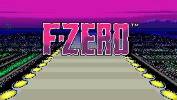 Big Blue (Unused Version) - F-Zero