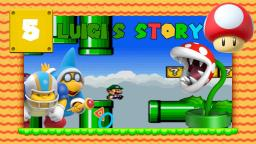 Lets Play Luigis Story [SMW-Hack] Part 5 - Ich mag Scrolling-Level ... NICHT