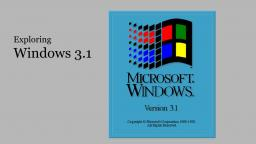 Exploring Windows 3.1