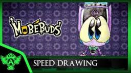 Speed Drawing: MobéBuds Verni (Concept 1) | Mr. A.T. Andrei Thomas