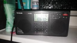 FM radio tropo DX 1 LIVE, WDR 1 Live 106.7 heard in Clacton Essex
