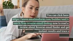 Free Reverse Email Lookup