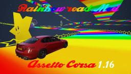 Rainbow road SMK64 in Assetto corsa 1.16