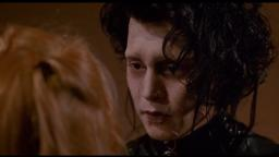 EDWARD SCISSORHANDS: SAD SCENE
