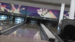BOWLING AT THE BOWLING ALLEY WITH MUSIC ♫