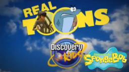 Discovery Kids Real Toons portrayed by SpongeBob