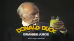 donald duck gets freshly squeezed