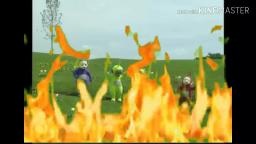 YTP burn with the teletubbies