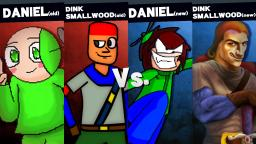 MUGEN: Old Daniel and Dink Smallwood VS New Daniel and Dink