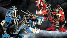 Classic LEGO Bionicle Review: Cahdok and Gahdok