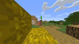 POV you are a hay block and dreams speedrunning a village