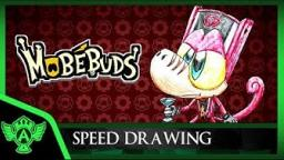 Speed Drawing: MobéBuds - Brario (Concept 1) | Mr. A.T. Andrei Thomas V