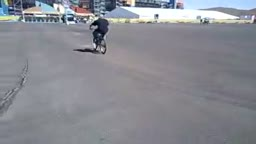 Some Bike Tricks with Monkey Man